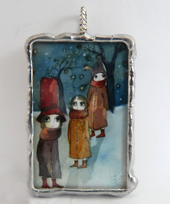 Winter hats pendant