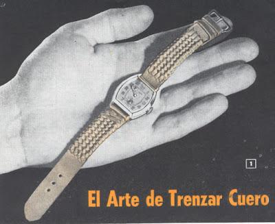 1949 Trenzas a paso por paso.