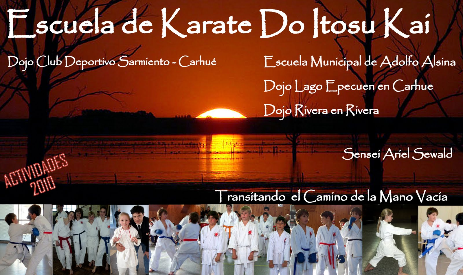 KARATE ACTIVIDADES 2010