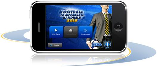 Iphone football manager handheld 2010