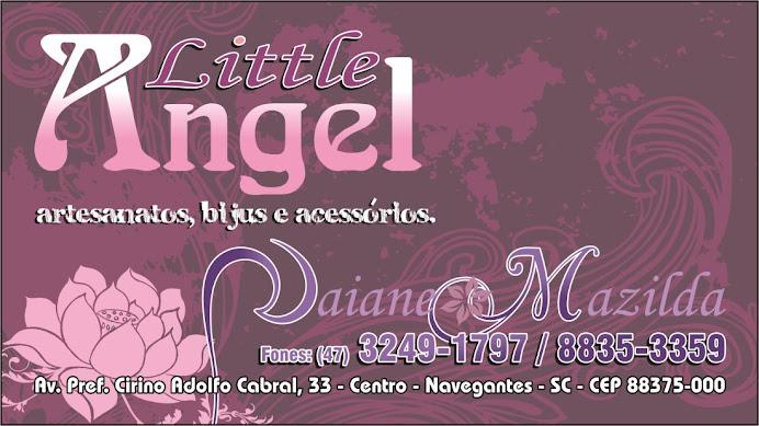 """Little Angel """" Sob a proteção de Deus"""" Artesanatos,Bijoux e acessórios"""
