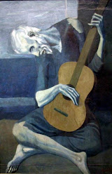 the old guitarist, picasso