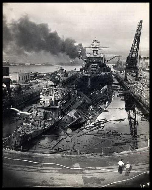 Fakta Menarik | Foto 'Terbaru' Kejadian Pengeboman Pearl Harbour