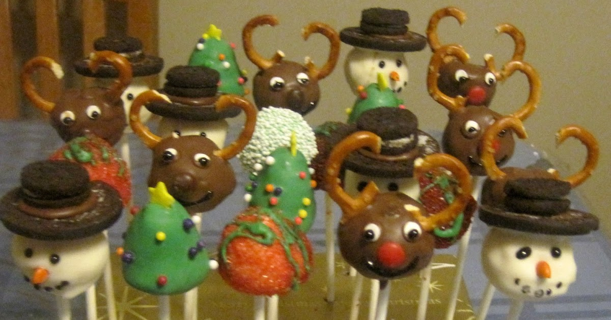 Frost It Christmas Eve Cake Pops