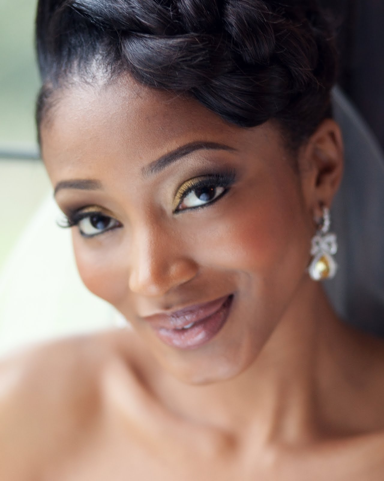 Wedding Makeup Looks For Black Ladies : Alison Cameron Makeup Artist: Bridal Makeup for Black and ...