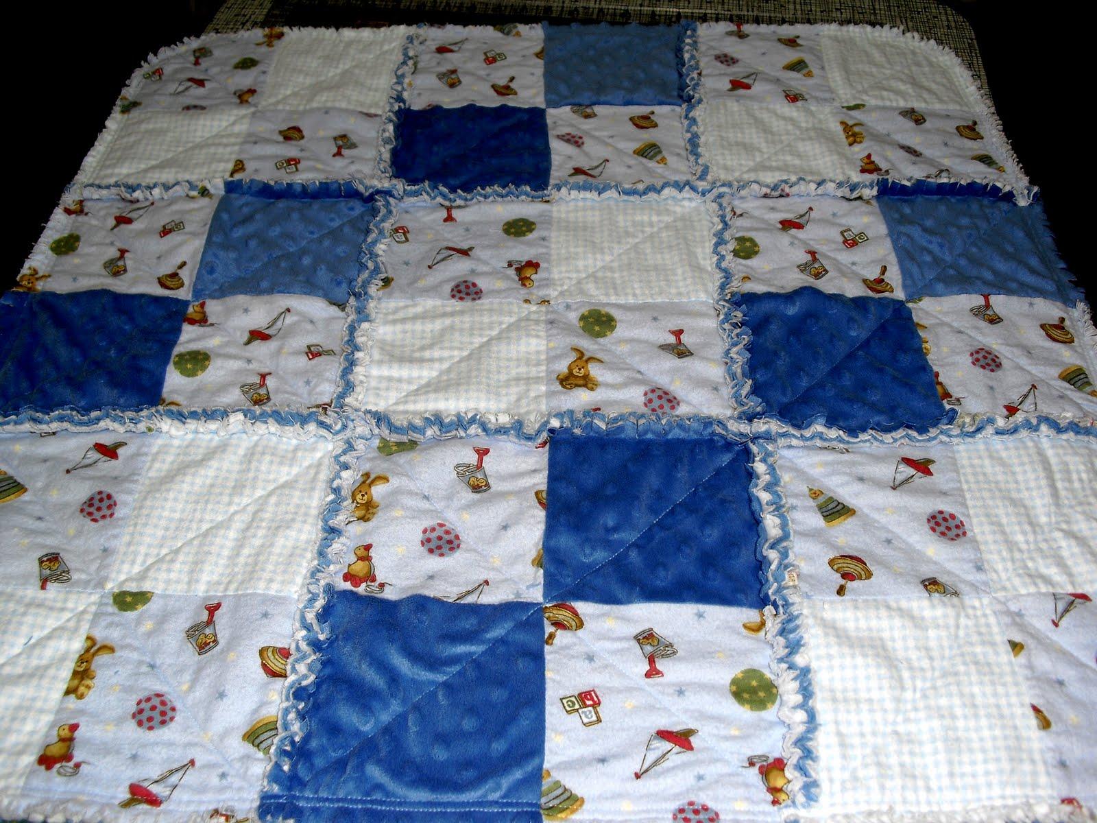 Up the Rainbow Creek: Super Quick Baby Rag Quilt : diy baby rag quilt - Adamdwight.com