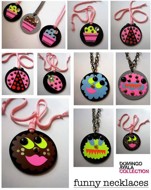 SWEET NECKLACES Domingo Ayala Handmade