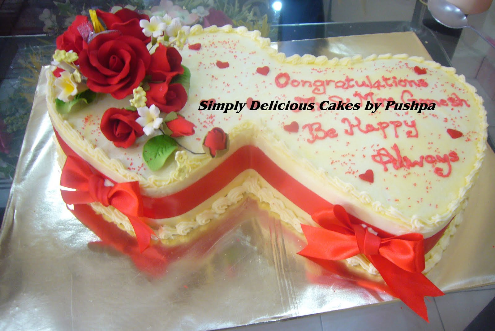 SIMPLY DELICIOUS CAKES: Gift a Cake