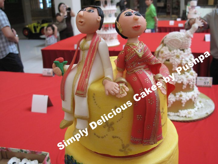 SIMPLY DELICIOUS CAKES TRADITIONAL INDIAN WEDDING CAKE
