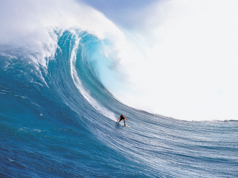 Awesome Ocean Wave Surfing title=