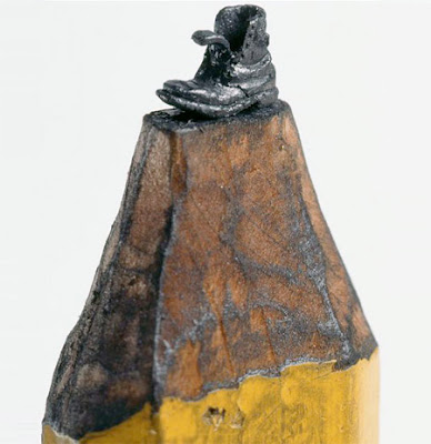 Awesome Pencil Tip Sculpture Seen On www.coolpicturegallery.net