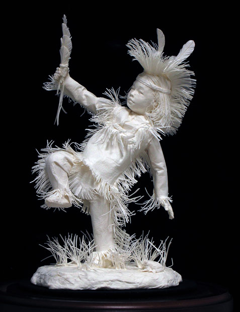 Amazing Native American Paper Sculptures Art Amazing Arts