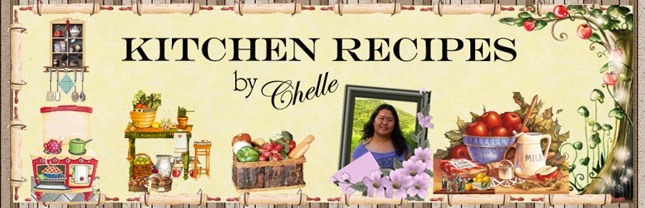 Kitchen Recipes by Chelle