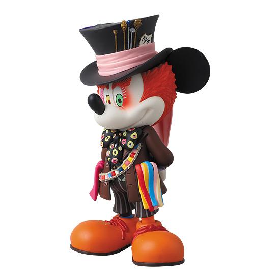 figurine mickey chapelier fou