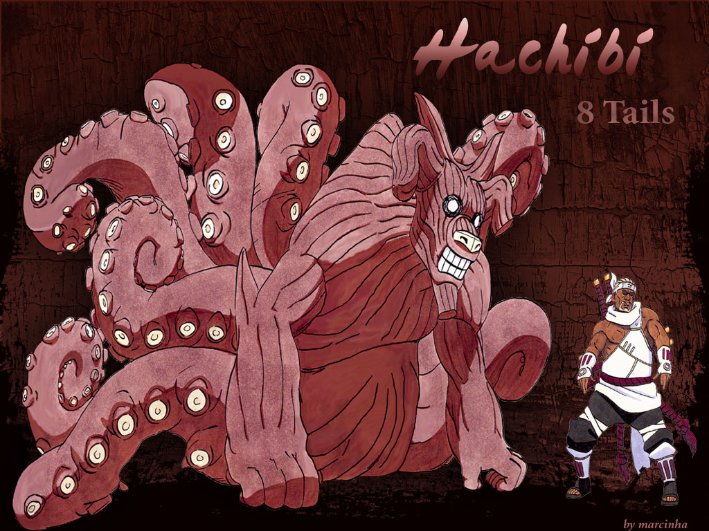 8 Tails Hachibi & killer bee