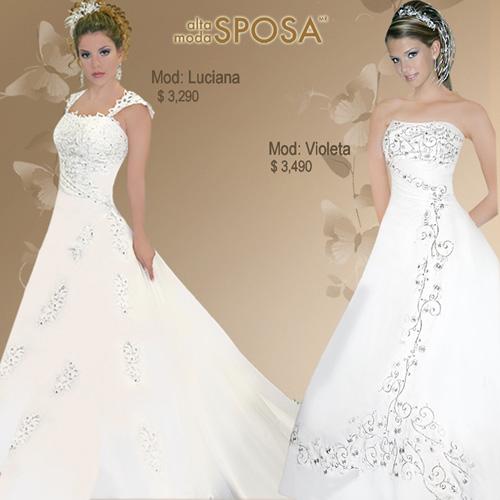 Stafezariz vestidos de novia en mexico for Boda en jardin vestidos