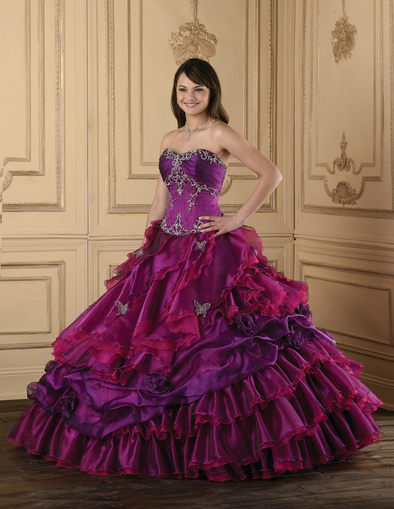 Blog Chica 15: Vestidos de quince años morado