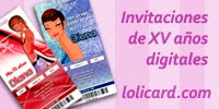 Invitaciones estilo Ticketmaster