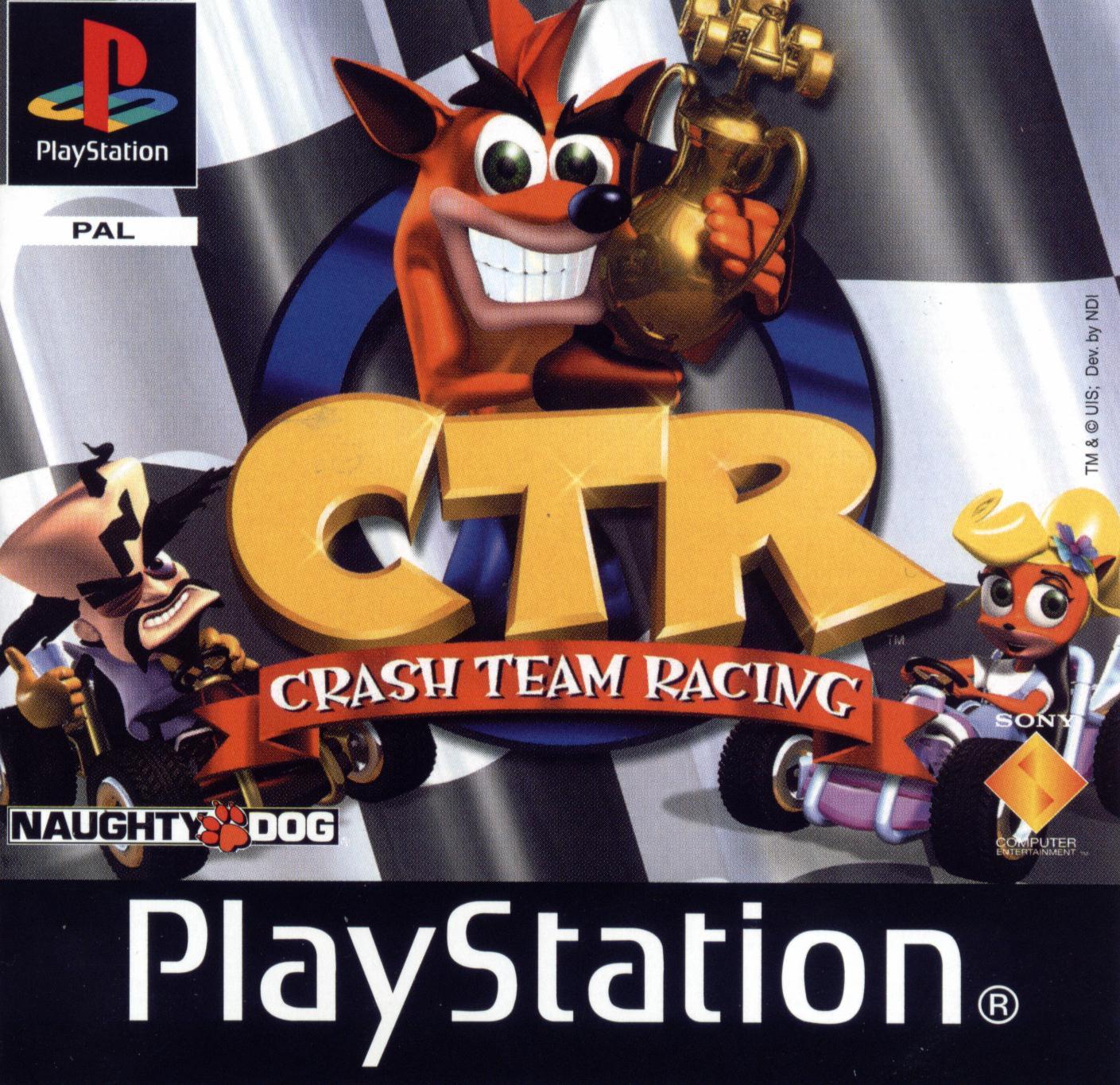 CRASH TEAM RACING (PS1)