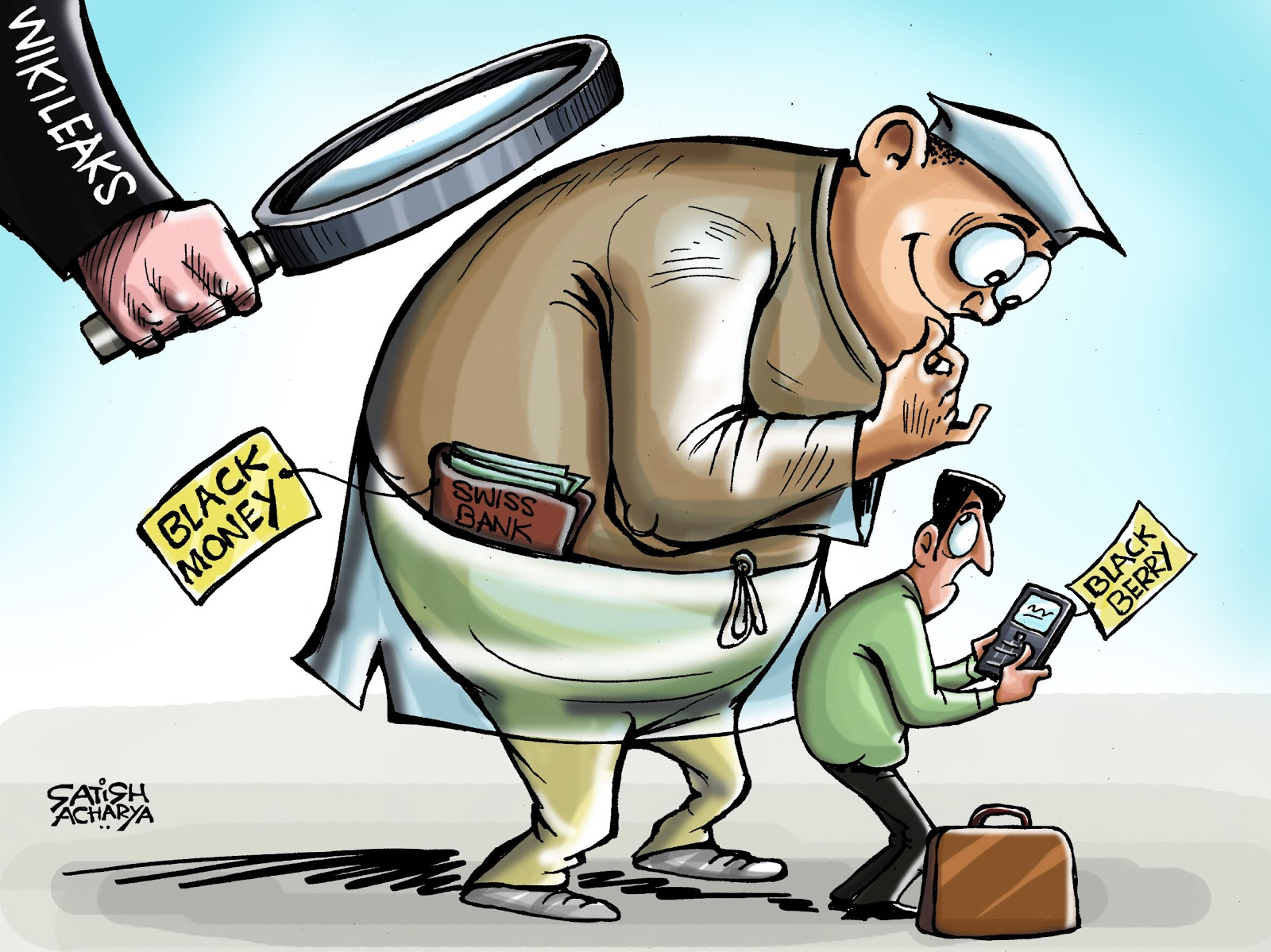 black money and how it affects Corruption is an issue that adversely affects india's economy of central,  black money refers to money that is not fully or legitimately the property of the 'owner.