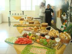 Organização do Café com Palestra ABRH - Senac