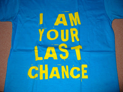 I am Your Last Chance. Status:Available