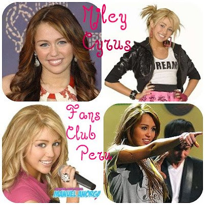 Miley Cyrus  Club on Olenka  Reuna Club De Fans  Miley Cyrus Fans Club Peru