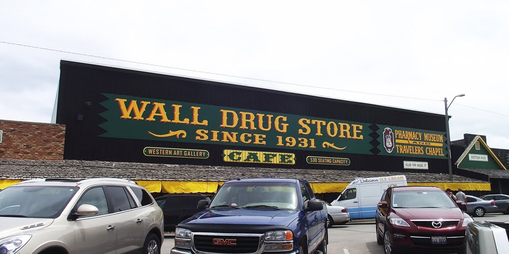 We Had So Much Fun Looking Here And We Even Got Our Wall Drug Store Bumper  Sticker! Great Art Galleries And Just Fun Place To Walk Around! Part 78