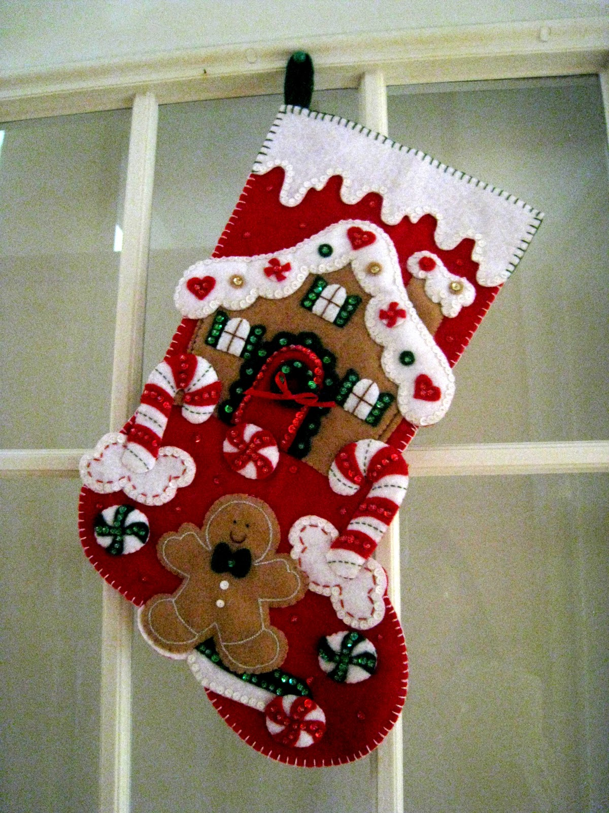 Decoracion Para Baños De Navidad:Creación Punto por Punto: Trabajos navideños en fieltro