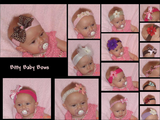 Bitty Baby Bows