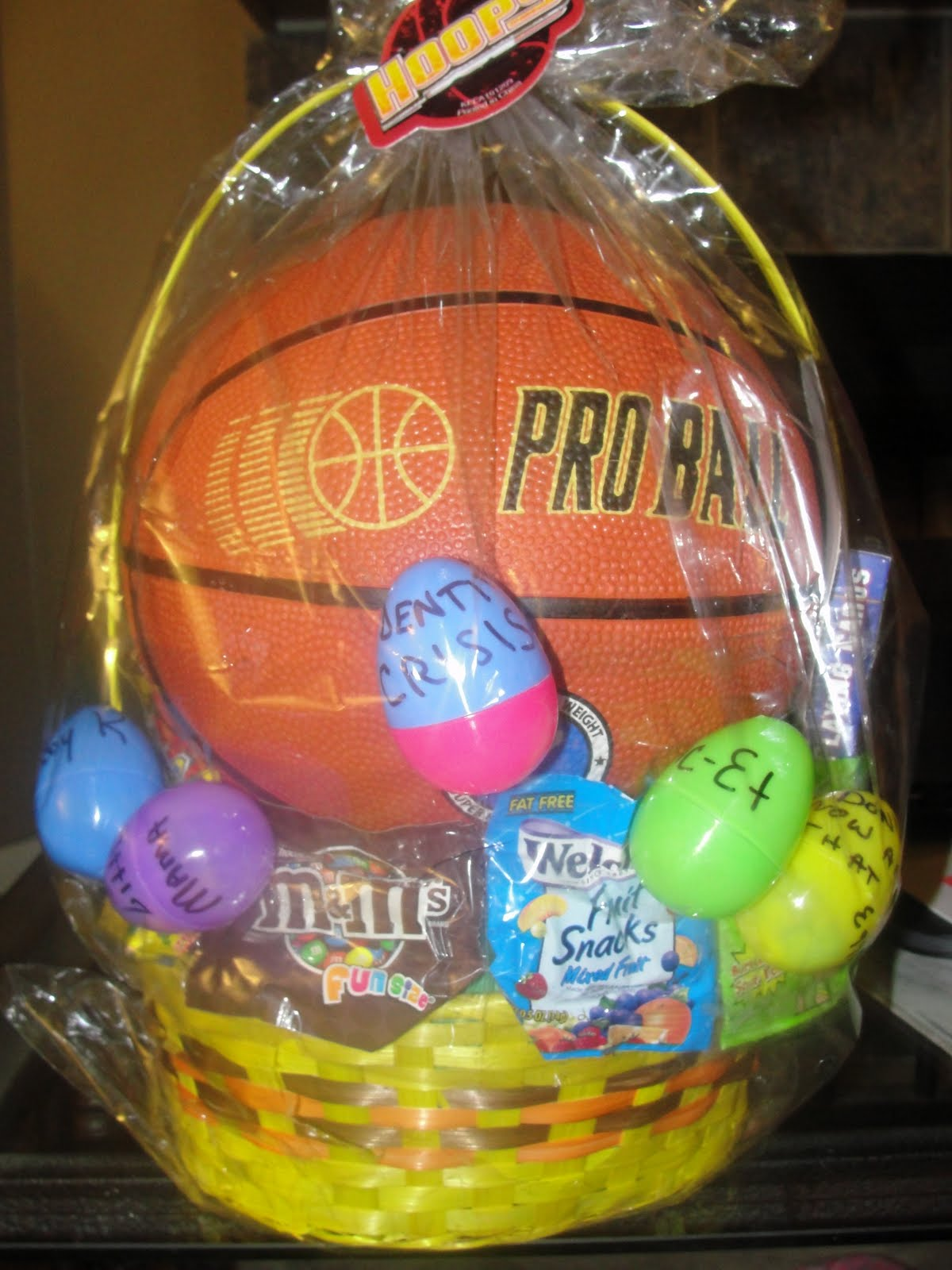 Thankfully blessed babys first easter basket baby ks first easter basket negle Images