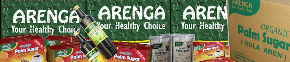 GULA SEMUT AREN  Organik: Organic Indonesia Arenga Palm Sugar