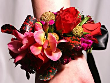 Red Rose Brides Corsage