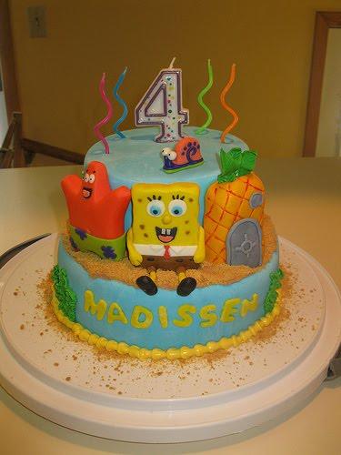 Spongebob Birthday Cake Design : Gallery Birthday Cakes: Spongebob Birthday Cake