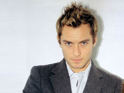 jude law hair. Jude Law with fauxhawk Hair