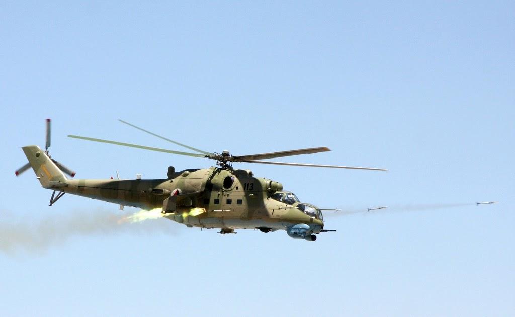 warship: Mi-35 helicopter gunship pics