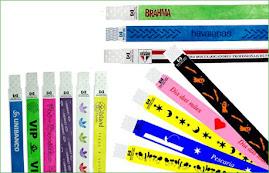 Pulseiras Vip - pulseiras de identificação (Papel e especial)