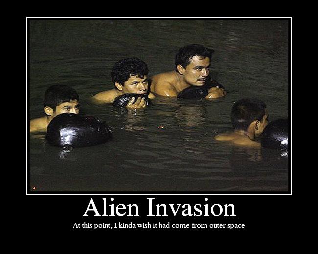 alien invasion of America