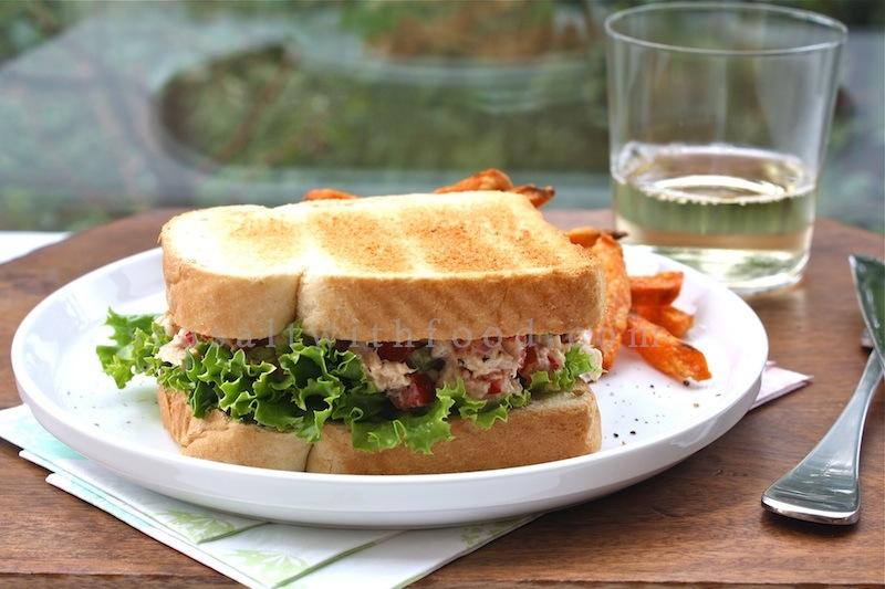 Seasaltwithfood: Tuna Salad Sandwiches