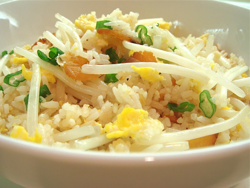 Seasaltwithfood fried rice with bean sprouts fried rice with bean sprouts forumfinder Images