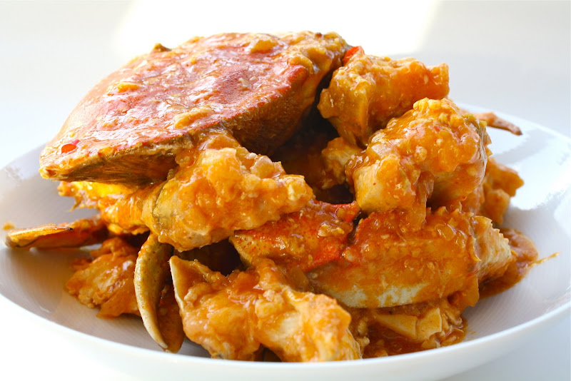 chili crab crab in sour and spicy sauce recept yummly chili crab crab ...