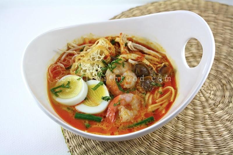 laksa recipe. singapore laksa recipe.