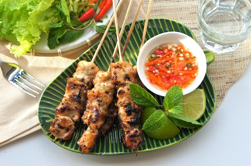 Seasaltwithfood: Grilled Lemongrass Chicken