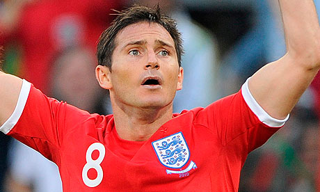 lampard is devastated to learn that his goal was denied