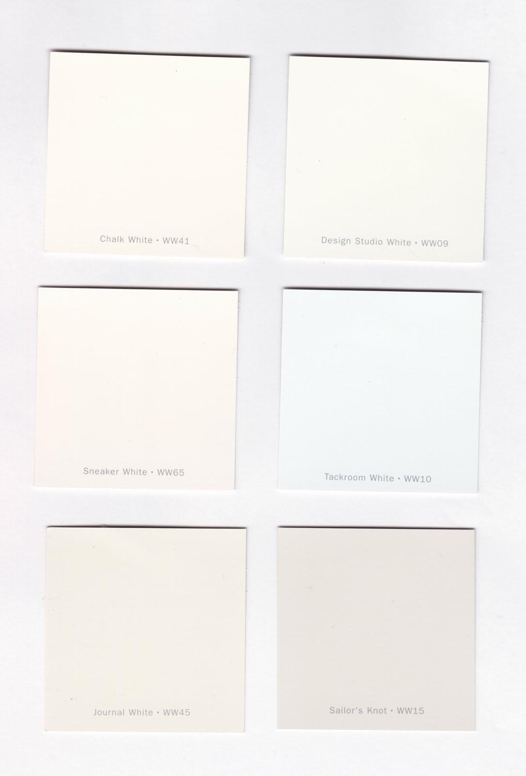 Decorator White Paint Color