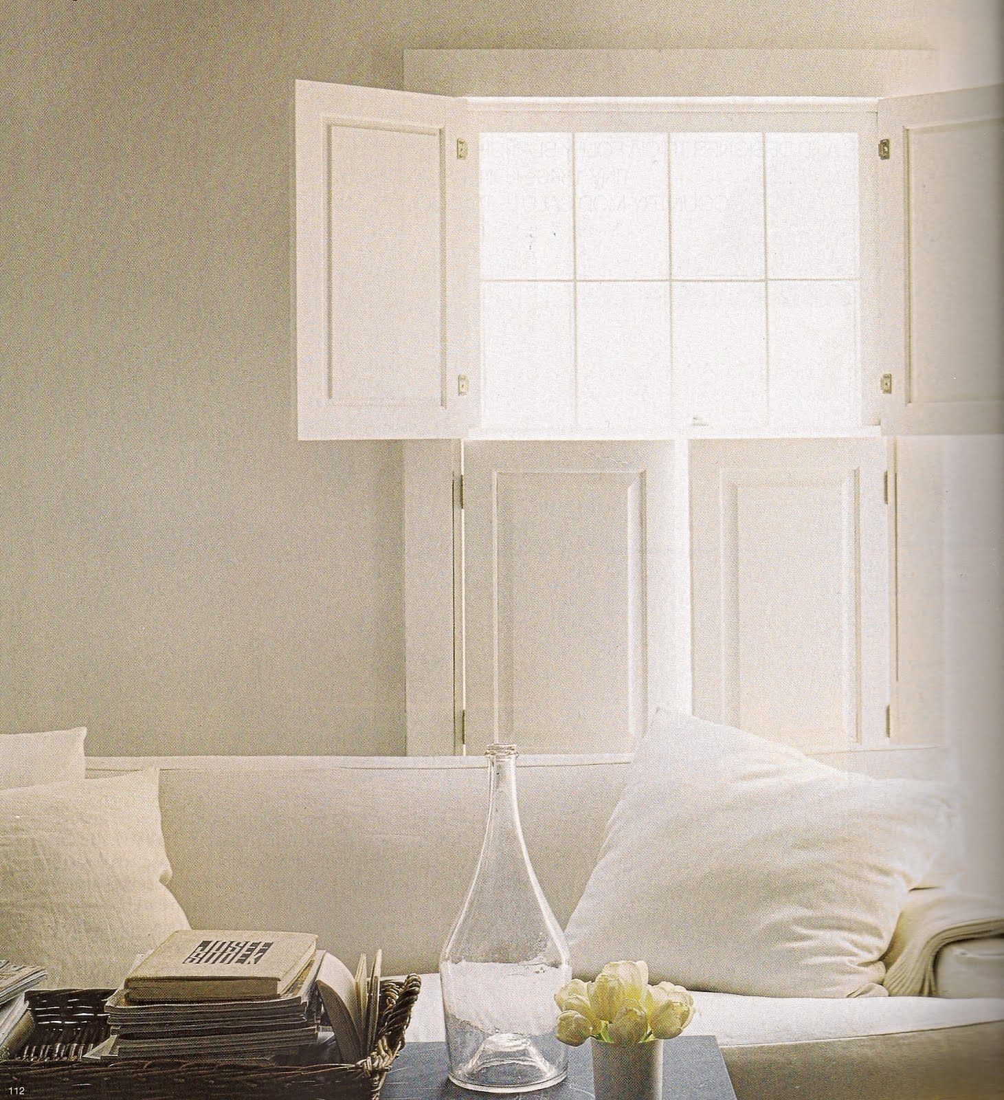 the perfect thing white shutters. Black Bedroom Furniture Sets. Home Design Ideas