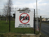 Anti-PSNI Banner