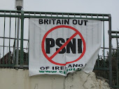 Britain Out of Ireland - PSNI Banner