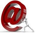 Kontakt mig via email