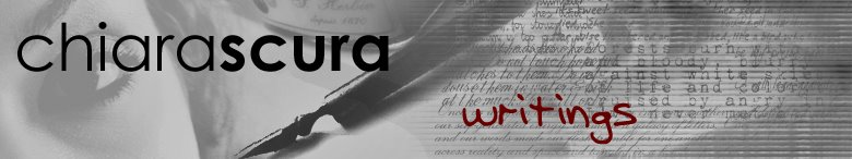 chiarascura: writings